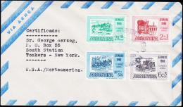 1960. EFIMAYO 1960. FDC 20. AUG. 1960.  (Michel: 737-740) - JF123013 - FDC