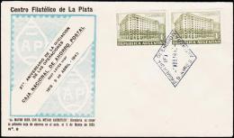 1942. 5. APRIL 42. 2 X 1 C.  (Michel: 466) - JF108989 - FDC
