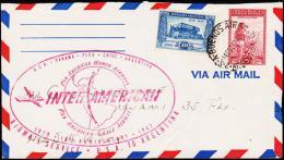 1947. INTERAMERICAN USA - PANAMA - PERU - CHILE - ARGENTINA. 14 OCT 47.  (Michel: 523) - JF108970 - Luftpost
