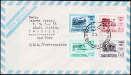 1960. UN FDC. 8. OCT. 1960.  (Michel: 749-752) - JF123010 - FDC