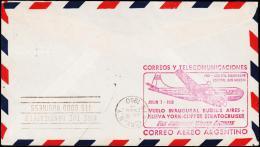 1950. VUELO INAUGURAL BUENOS AIRES - NUEVA TORK - CLIPPER STRATOCRUISER. NEW YORK JUL 8... (Michel: 457) - JF108979 - Luftpost
