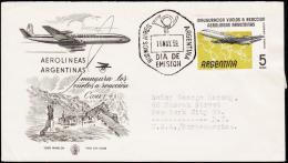 1959. FDC 16 MAY 59. 5 PESOS.  (Michel: 693) - JF123008 - FDC