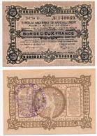 1914-1918 // SEDAN // Deux Francs - Bons & Nécessité