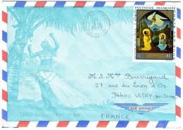Tableau N°A58 Sur Lettre Illustrée - Lettres & Documents
