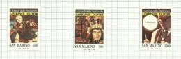 Saint-Marin N°1238 à 1240 Neufs Avec Charnière Côte 8 Euros - San Marino