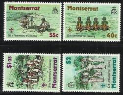 Montserrat 1979 50th Anniversary Of Scouting MNH - Montserrat