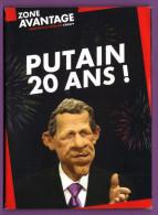RARE LES GUIGNOLS DE L'INFO CANAL+ Pochette PUTAIN 20 ANS ! 10 Cartes Exclusives - Humor