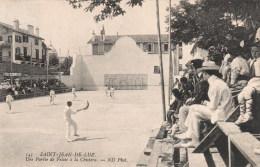 143 - SAINT JEAN DE LUZ - UNE PARTIE DE PELOTE A LA CHISTERA - Saint Jean De Luz