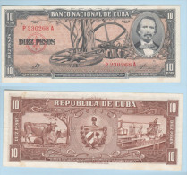 Cuba 10 Pesos serie 1960 a firma Che Guevara