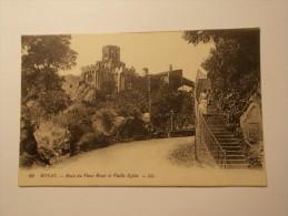 Carte Postale - ROYAT (63) - Route Du Vieux Royat Et Vieille Eglise (128/100) - Royat