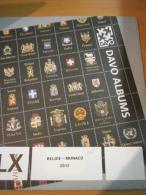 SUPPLEMENT DAVO BELGIQUE 2012 LX 7 MONACO. - Albums & Reliures