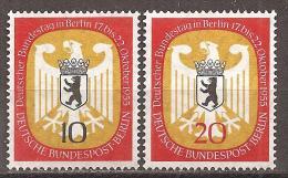Berlin 1955 // Mi. 129/130 ** - Berlin (West)