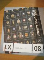 SUPPLEMENT DAVO BELGIQUE 2008 LX 5 . - Pré-Imprimés