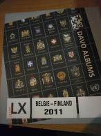 SUPPLEMENT DAVO BELGIQUE 2011 LX FINLANDE . - Albums & Reliures