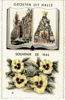 GROETEN UIT HALLE - SOUVENIR DE HAL - Halle