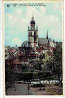 HALLE - Algemeen Zicht Op De Basiliek - Carte à Système - Halle