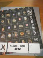 SUPPLEMENT DAVO BELGIQUE 2012 LX 5 ALAND. - Albums & Reliures