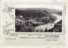 LUSTIN SUR MEUSE - Le Pont Vers FLORAIRE Ches Les Frères SOYEZ - Hôtel-Restaurant à LUSTIN-FRENE - Ohne Zuordnung
