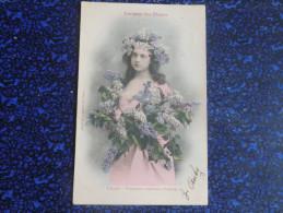 Langage Des Fleurs - Le Lilas - Femmes