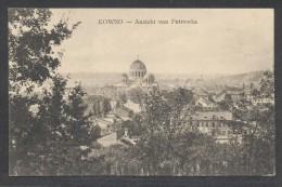 8357-KOWNO-KAUNAS-ANSICHT VON PETROWKA-1921-FP - Lituania