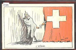 SUISSE - GUERRE 14-18 - L'AFFAIRE DES COLONELS - TB - Humoristiques