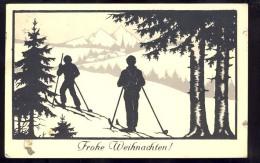AK  SILHOUETTE  1938 - Silhouettes