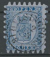 FINNLAND 1866 MI-NR. 8 O Used Zähnung Siehe 2 Scans - 1856-1917 Amministrazione Russa