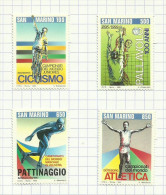Saint-Marin N°1387 à 1390 Neufs  Côte 3.50 Euros - San Marino