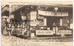 33 - BORDEAUX - 69, Rue Porte-Dijeaux - Maison VEUVE SIMON / Le Plus Important DÉPÔT D´HUITRES ++++ 1904 ++++ RARE / TOP - Bordeaux