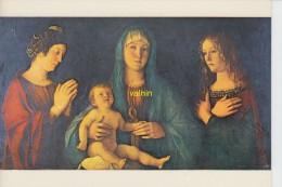 Venezia Vi  Giovanni Bellini   Madone Avec L Enfant Et Deux Saintes   Galerie Academie - Arts