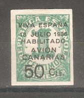 Sello Nº 4  Aha Canarias - Emisiones Nacionalistas