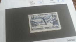 LOT 241678 TIMBRE DE FRANCE NEUF** N�334 VALEUR 16 EUROS LUXE