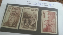 LOT 241679 TIMBRE DE FRANCE NEUF** N�345 A 347  LUXE