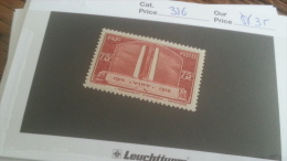 LOT 241687 TIMBRE DE FRANCE NEUF** N�316 VALEUR 35 EUROS LUXE