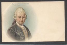 8364-GOTTHOLD EPHRAIM LESSING-SCRITTORE-FILOSOFO-DRAMMATURGO-FP - Personaggi Storici