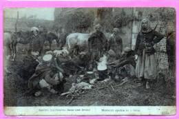 Guerre - Spahis Marocains Dans Une Ferme - Maroc