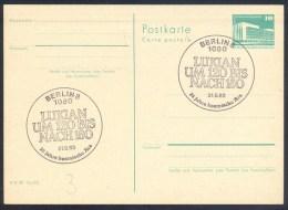 Germany Deutschland DDR 1981 Card: Space Weltraum: 25 Jahre Kosmische Era: Lukian - FDC & Gedenkmarken