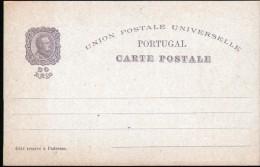 PORTUGAL, ENTIER POSTAL, 2 SCANS - Entiers Postaux