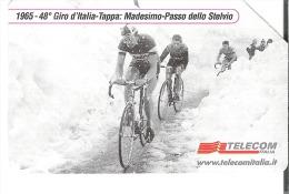Italy - Cycling - 1965 - 48. Giro D'Italia - Pubbliche Speciali O Commemorative