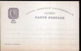 PORTUGAL, ENTIER POSTAL, 2 SCANS, ACORES - Entiers Postaux
