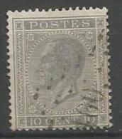 Belgique - Leopold Ier - N°17A - Obl. LP100 DOTTIGNIES (nipa+300)
