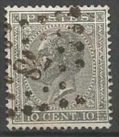 Belgique - Leopold Ier - N°17A - Obl. LP78 CHATELINEAU (Nipa+30)