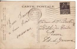 France,Paris,Exposition Coloniale De 1931, Sur Carte Soins Maternels (15/marco010) - Poststempel (Briefe)