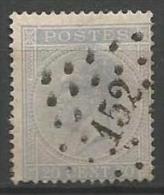 Belgique - Leopold Ier - N°18A - Obl. LP152 GOSSELIES (Nipa+30)
