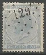 Belgique - Leopold Ier - N°18A - Obl. LP129 FLOREFFE (Nipa+250)