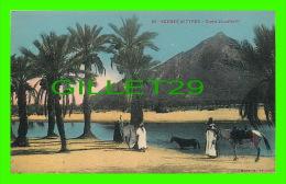 ALGÉRIE - SCÈNES ET TYPES - OUED ZOUAFARM -  ANIMÉE - ÉCRITE - EDIT. A. F. - - Algérie