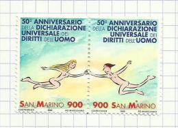 Saint-Marin N°1597, 1598 Neufs Avec Charnière Côte 3.50 Euros - San Marino