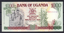 UGANDA 1991  1000 SHILLINGS  NUEVO SIN CIRCULAR UNCIRCULATED.PICK Nº 34b   VER FOTO.B 076 - Uganda