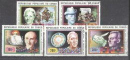 Congo B 1978 Nobel Prize Winners Used DE.111 - Congo - Brazzaville