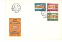 Sobre De Primer Dia Portugal 1969 - 1910-... República